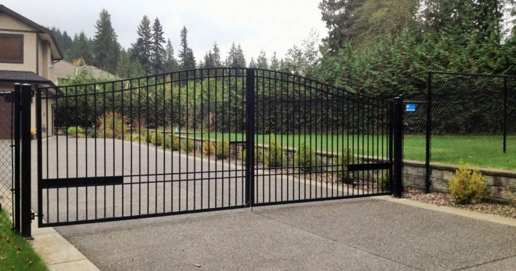 Aluminum Entry Gate Vancouver