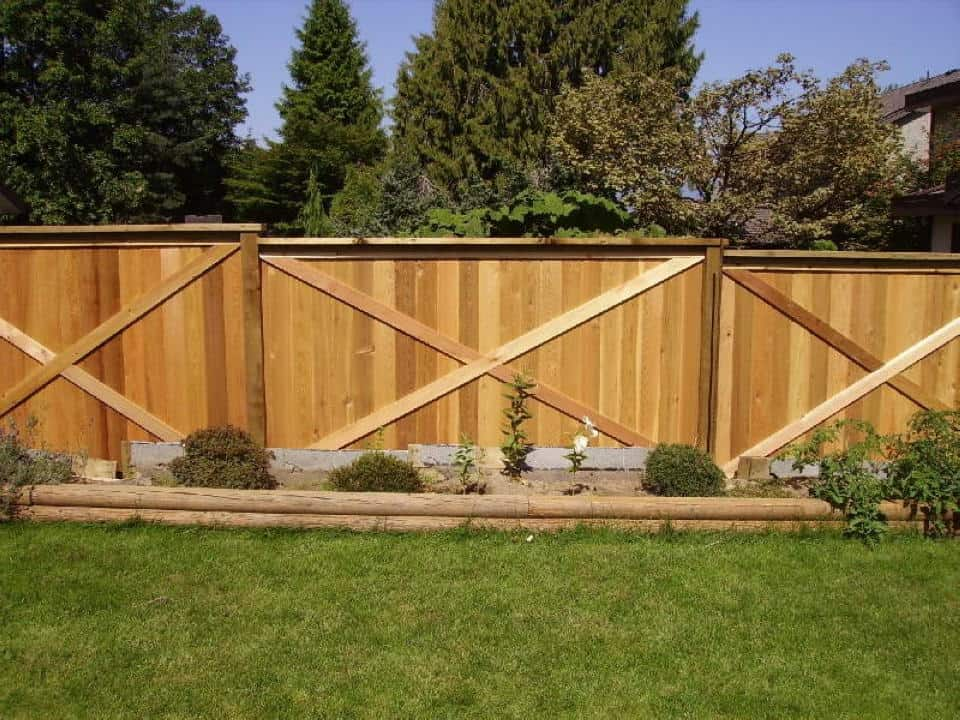 Cedar Privacy Fence - Vancouver, BC