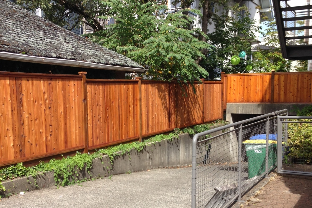 Fence Staining Services Premium Fence Company
