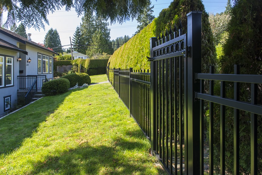 Aluminum Picket Fence Vancouver, BC