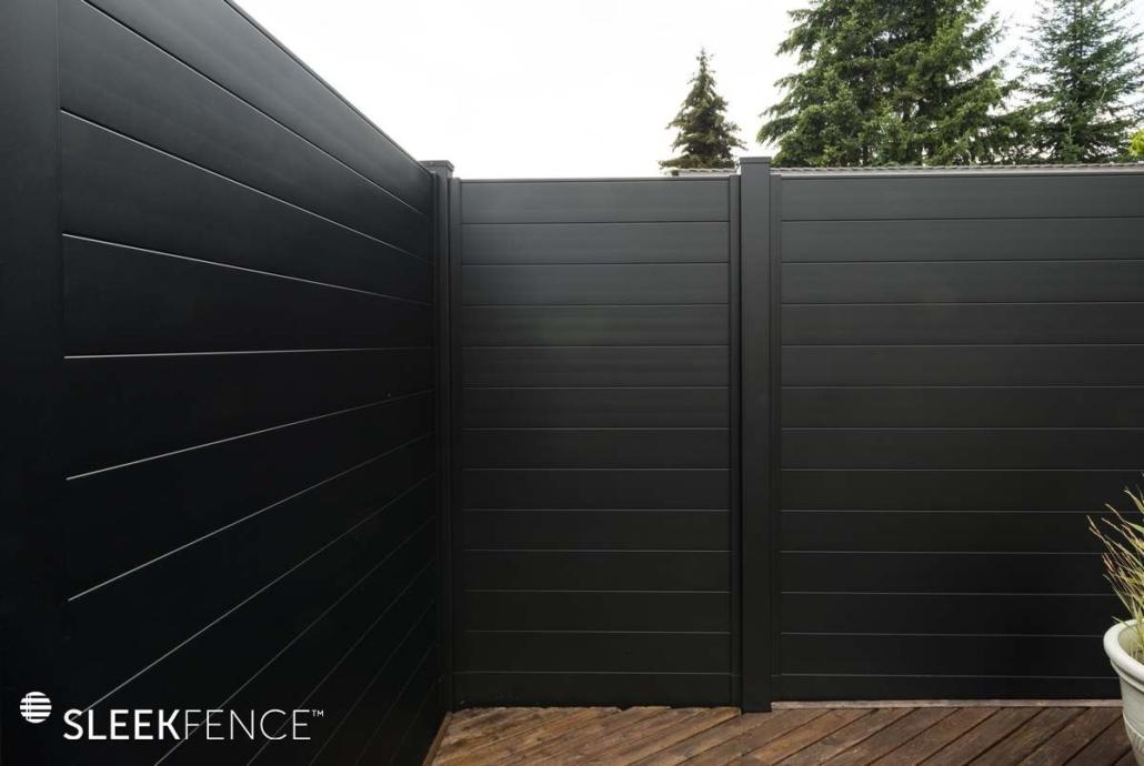 Modern Pool fence
